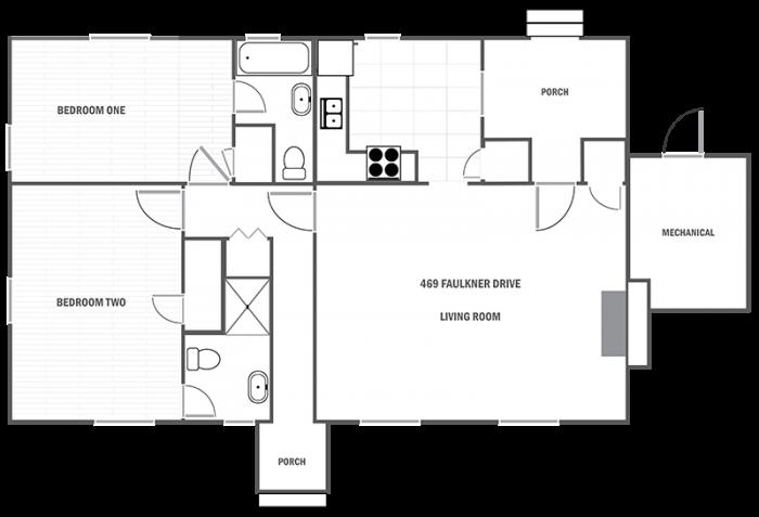469 Faulkner Drive floor plan