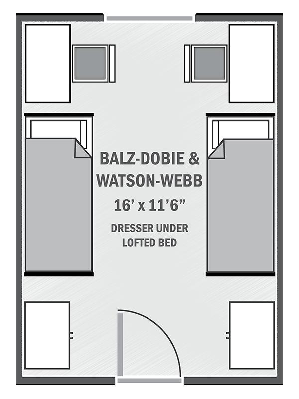 Balz-Dobie & Watson-Webb sample floor plan