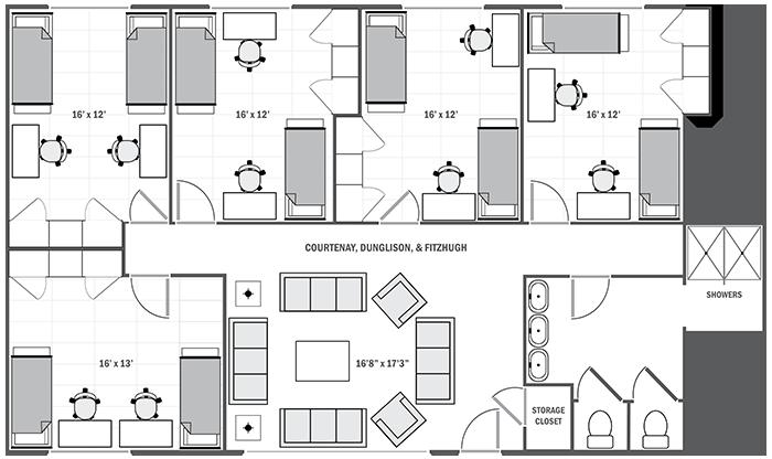 Courtenay Dunglison Fitzhugh Floor Plan