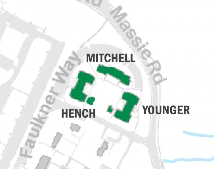 Faulkner Apartments buildings map