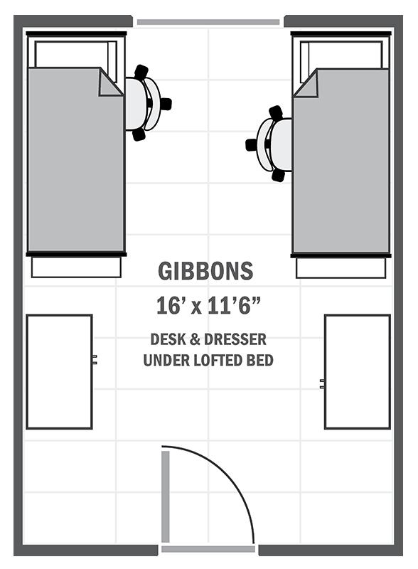 Gibbons House sample floor plan