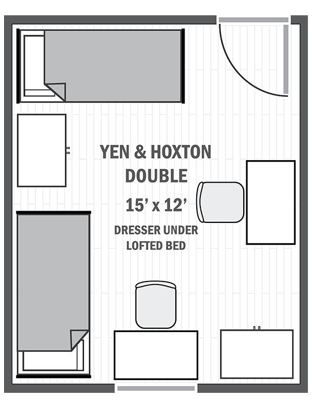 Yen & Hoxton double sample floor plan