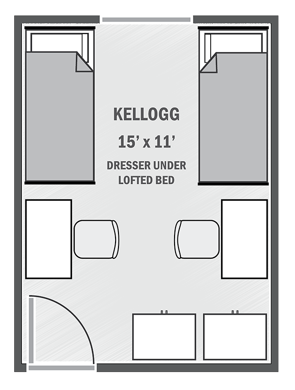 Kellogg sample floor plan