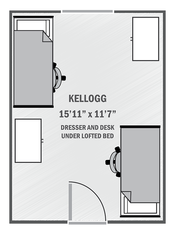 Kellogg sample floor plan
