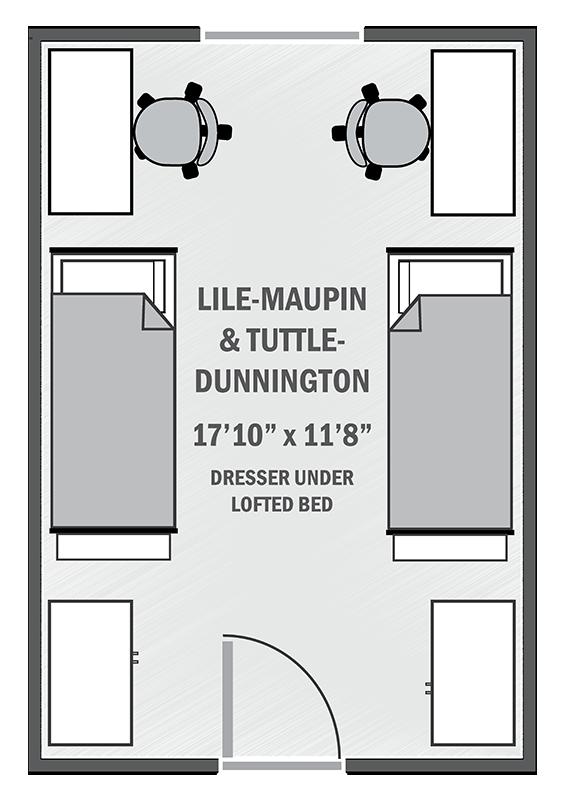 Lile-Maupin & Tuttle-Dunnington sample floor plan