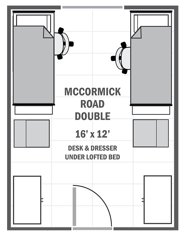 McCormick Road double sample floor plan