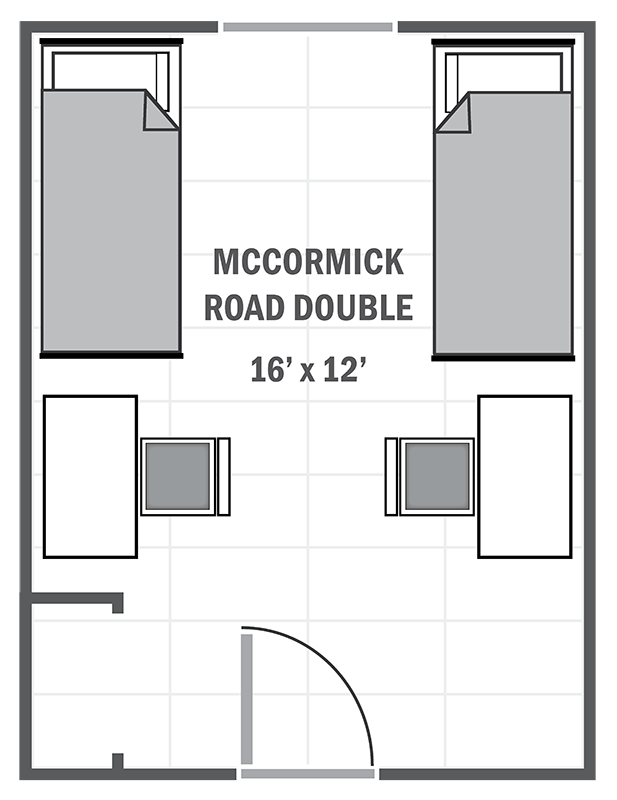 McCormick Road standard double sample floor plan