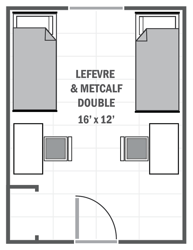 Lefevre & Metcalf Double sample floor plan
