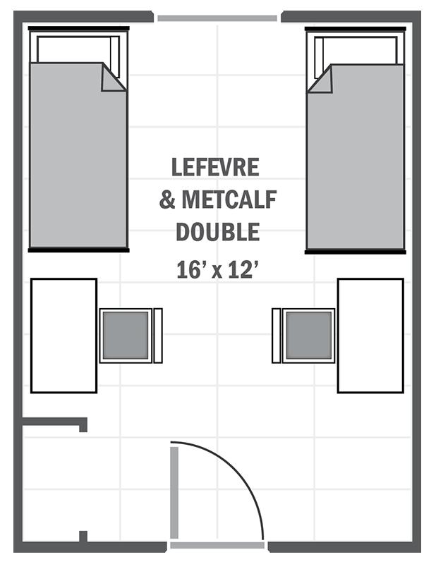 Lefevre & Metcalf Double sample floor plan