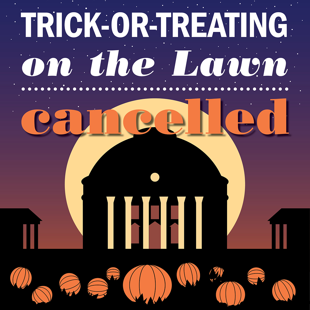 Trick Or Treating On The Lawn Housing And Residence Life U Va