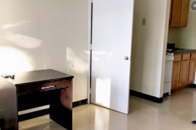TV stands are included in one-bedroom apartments