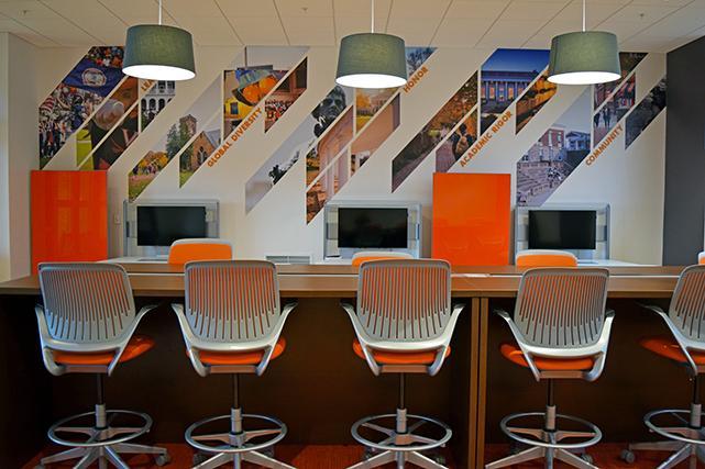 Gooch study lounge workspaces