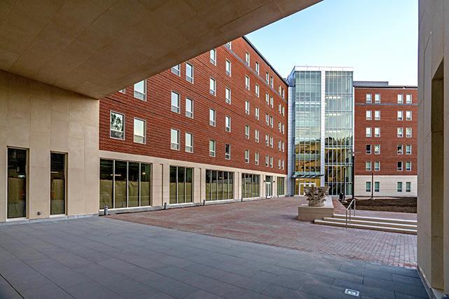Bond House courtyard