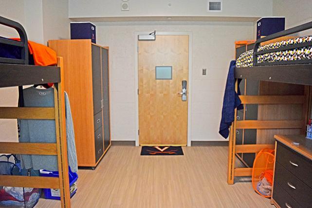 Renovated McCormick Road room