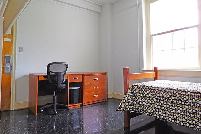 Single room in Brown first-year suite