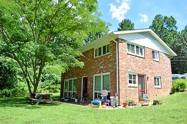 Piedmont split-level house