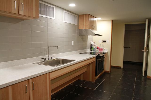 Gooch shared kitchen