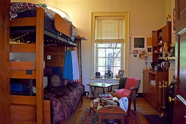 Lawn room from door