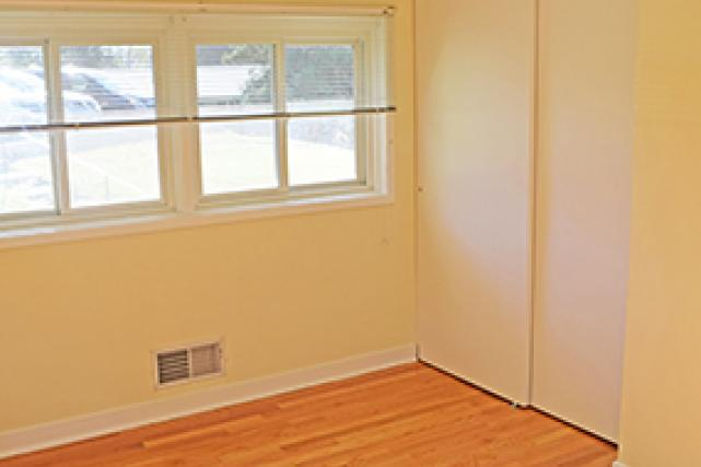 Closets in bedroom two