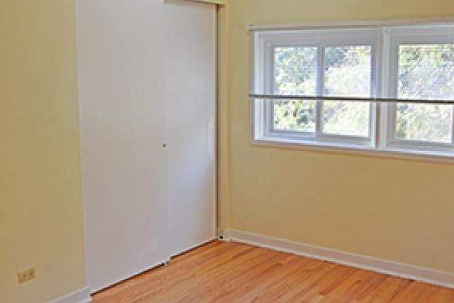 Closets in bedroom three