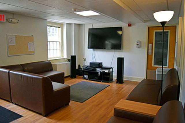 Tucker lounge/media room