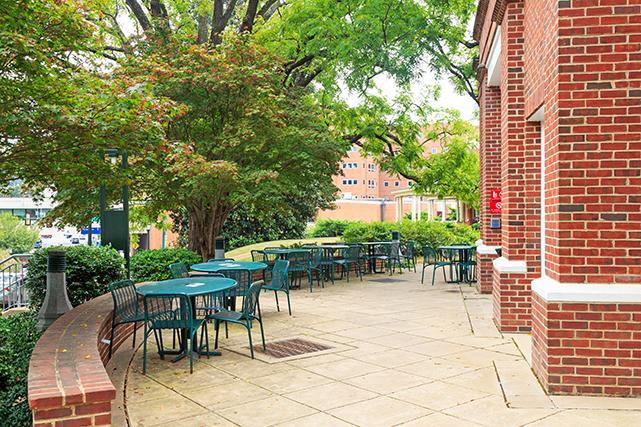 Shea House patio