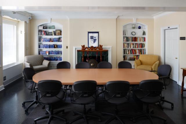"Munford ""Fishbowl"" meeting room"