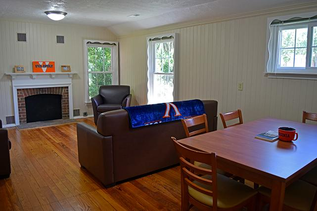Shared living room for Faulkner Drive residents