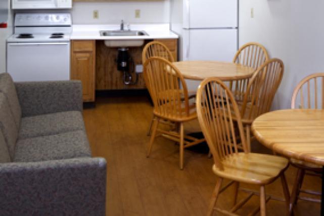 Lewis shared kitchen
