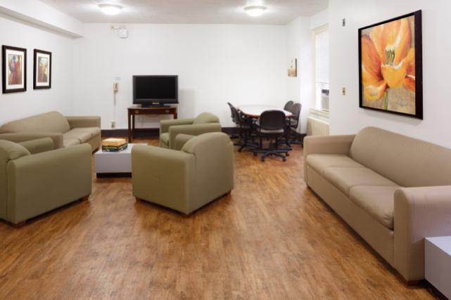 Munford second floor lounge