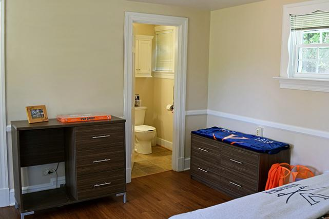 Bedrooms have private bathrooms