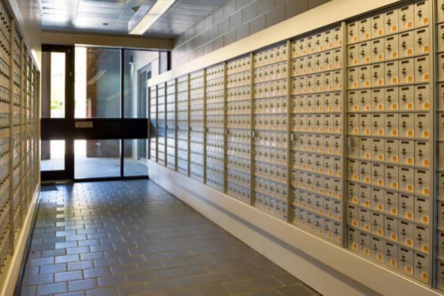Mailroom at Runk