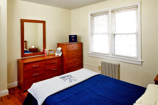 Furnished apartments include 5-drawer dresser and nightstand (some include a six-drawer dresser and mirror)